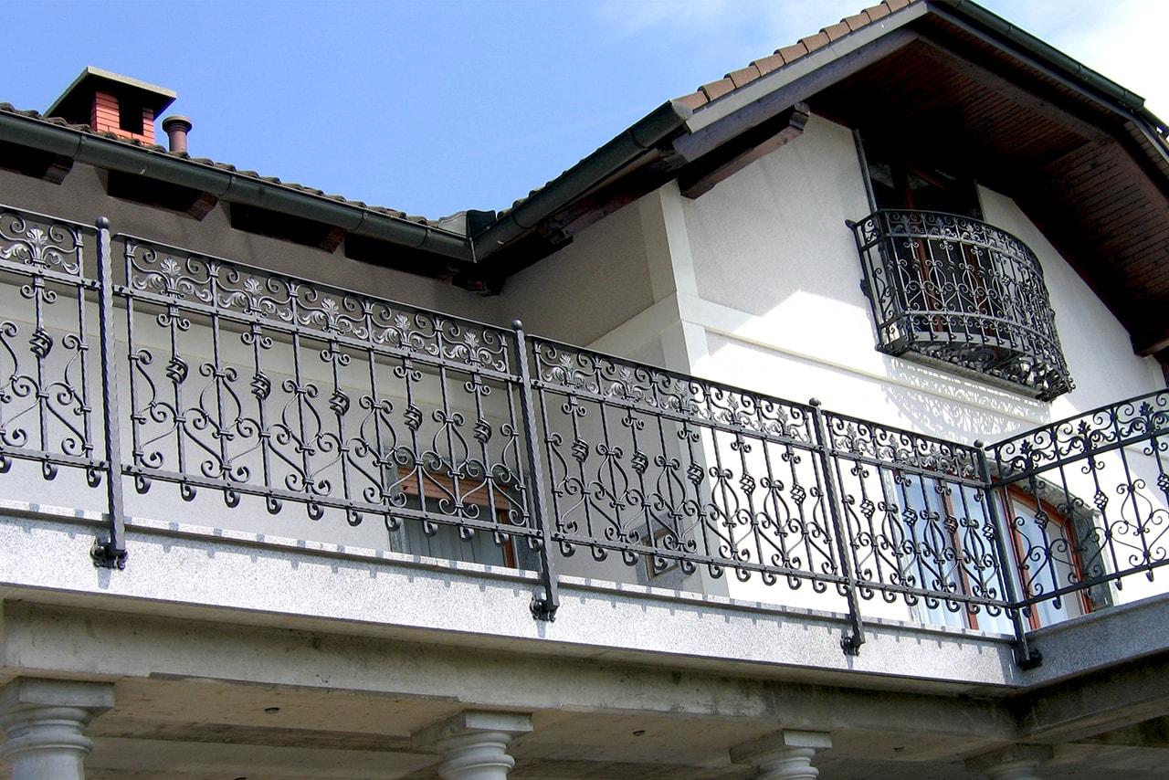 Balkonske ograje Sarnek.si umetno kovaštvo Šarnek