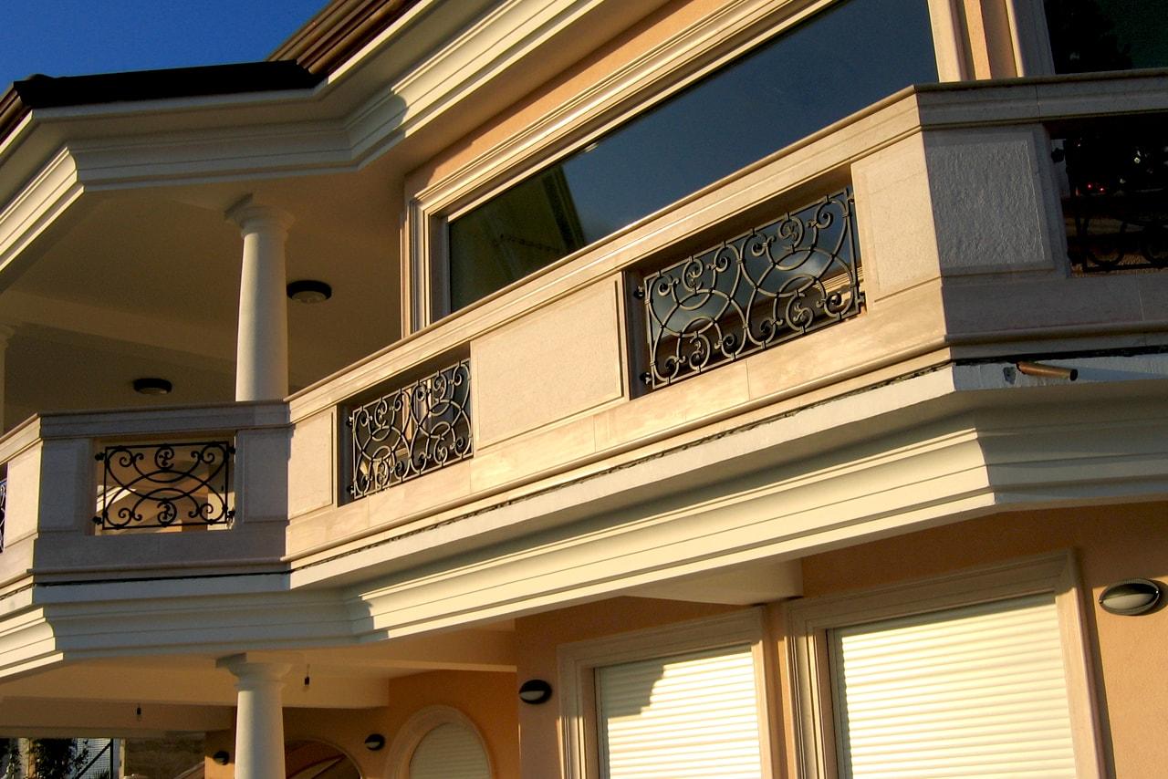 Balkonske ograje cena Sarnek.si