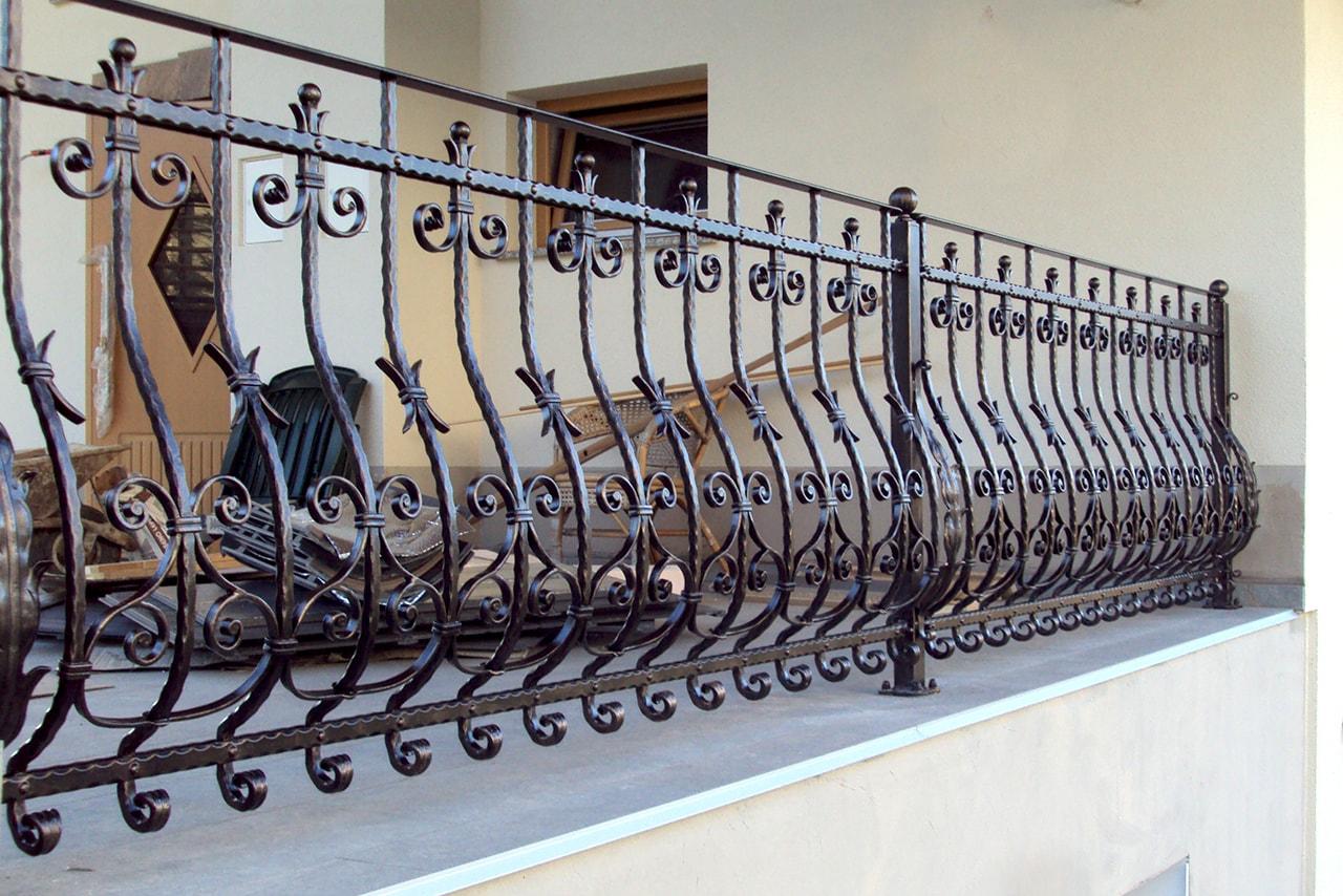 Kovaški izdelki - balkonske ograje Sarnek.si