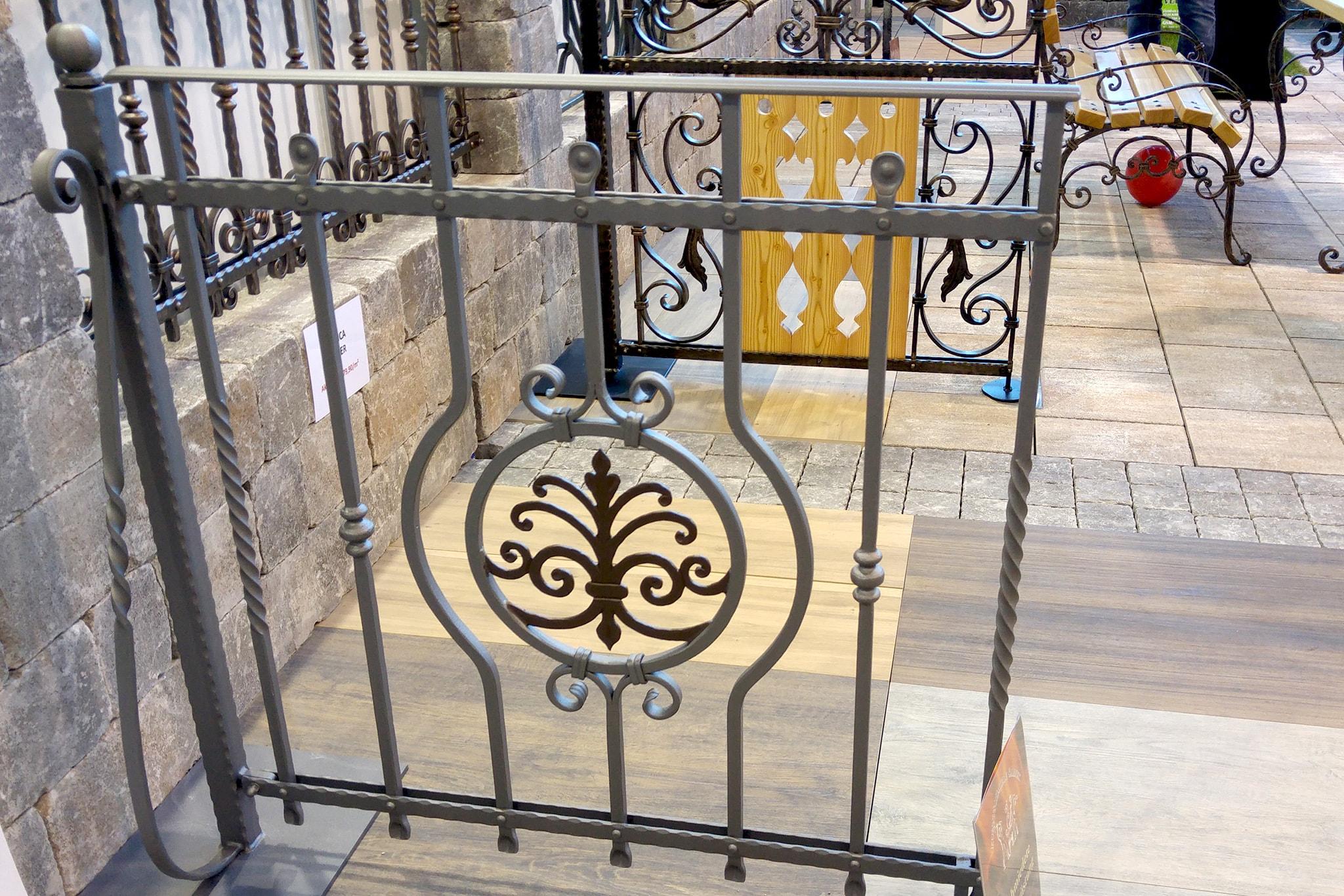Kovane balkosnke ograje sejem Komenda