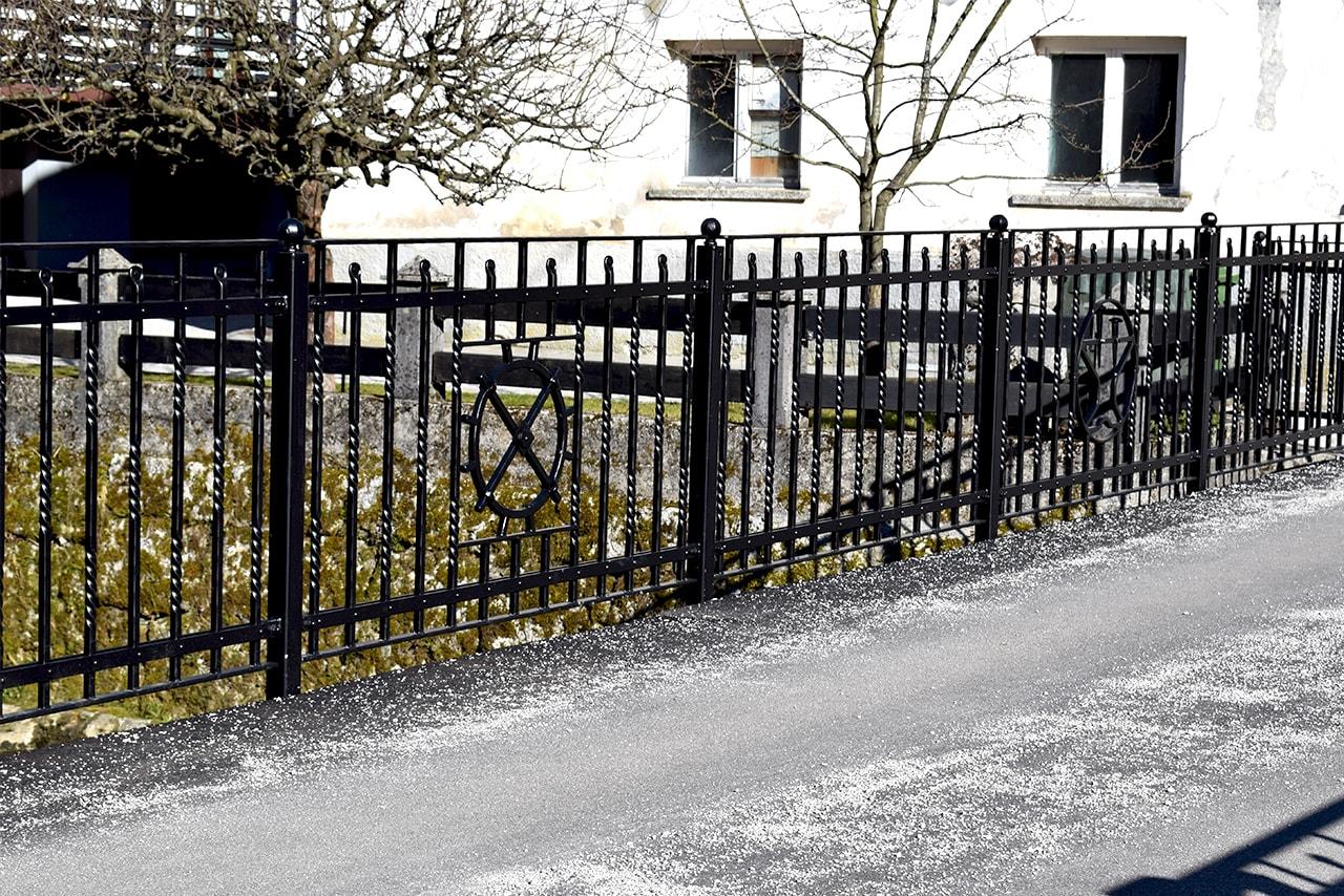 Kovane ograje za mestno jedro Sarnek.si
