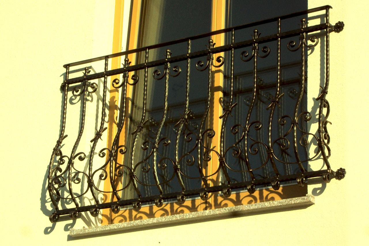 Ograja za francoski balkon - Sarnek.si