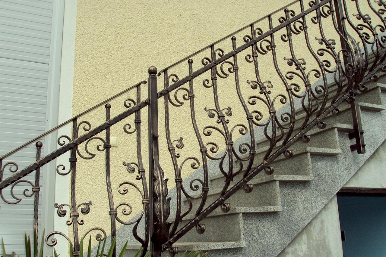 Stopniščne ograje Umetno Kovaštvo Sarnek.si