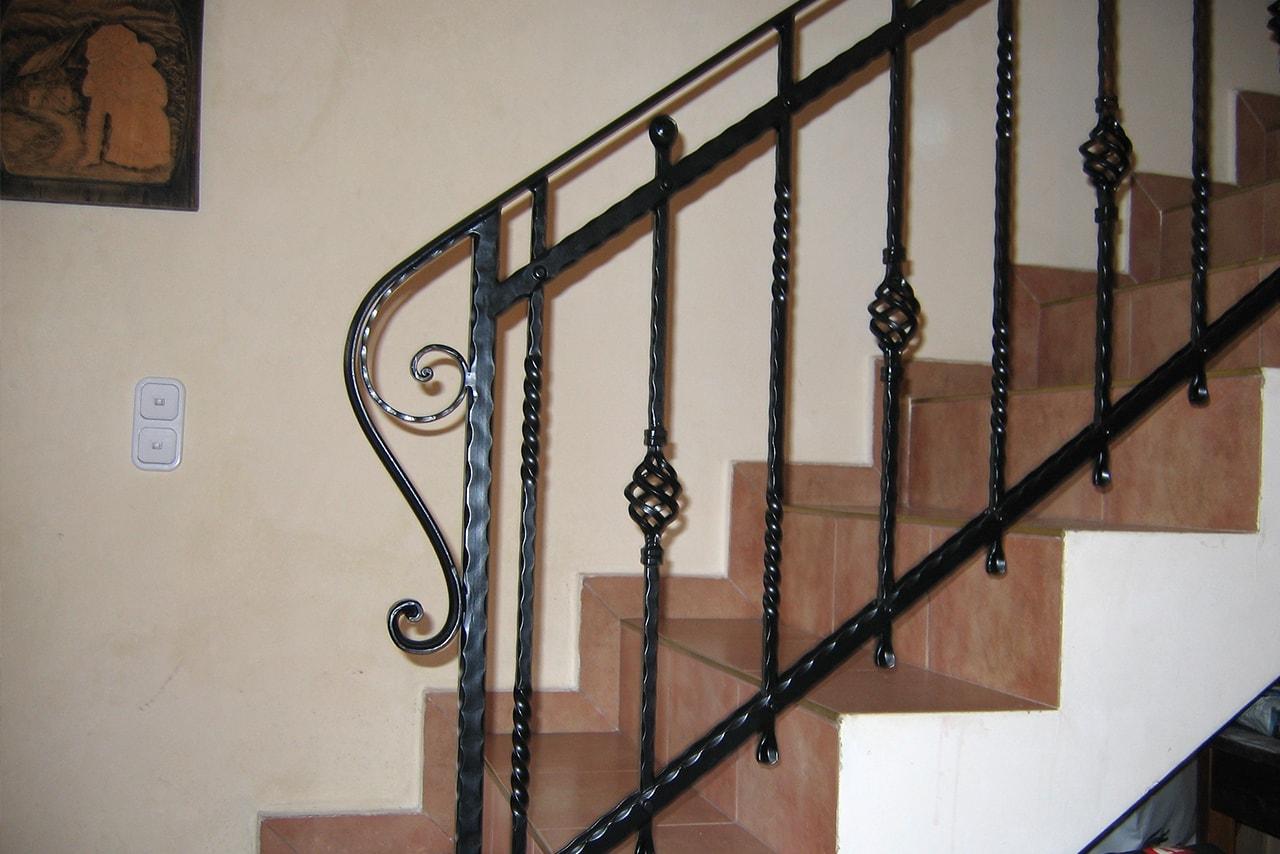 Stopniščne ograje cenik umetno kovaštvo