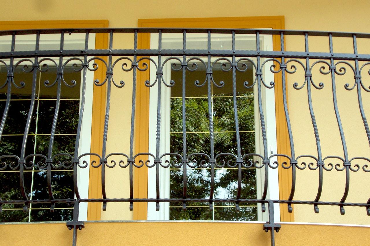 Unikatna balkonska ograja kovaštva Sarnek.si