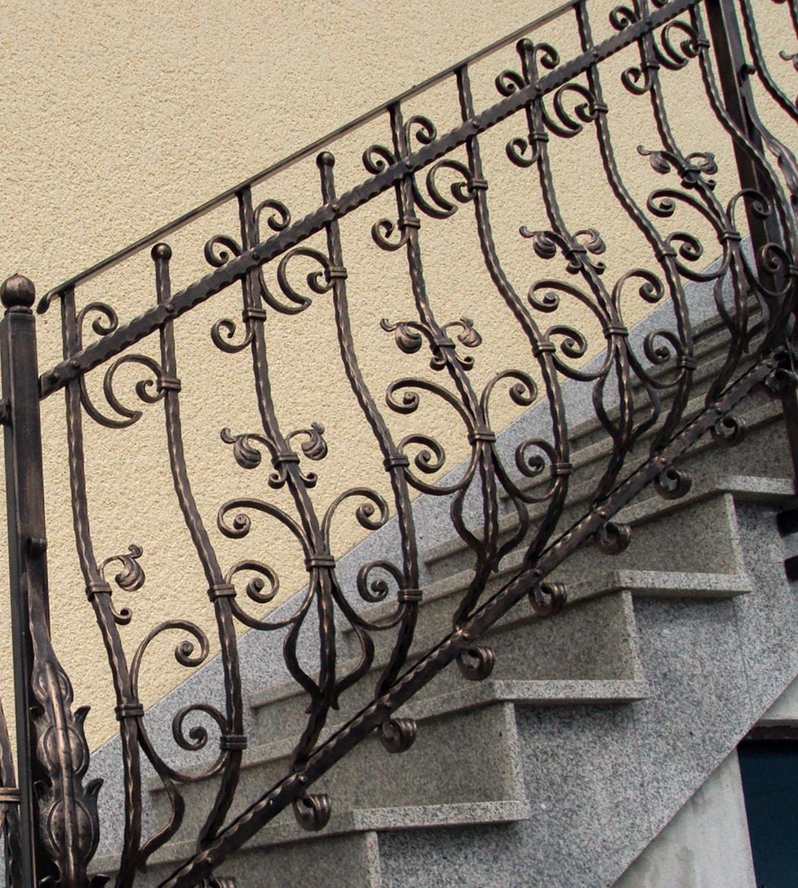 Stopniščne ograje, notranje ograje za stopnice - Sarnek.si