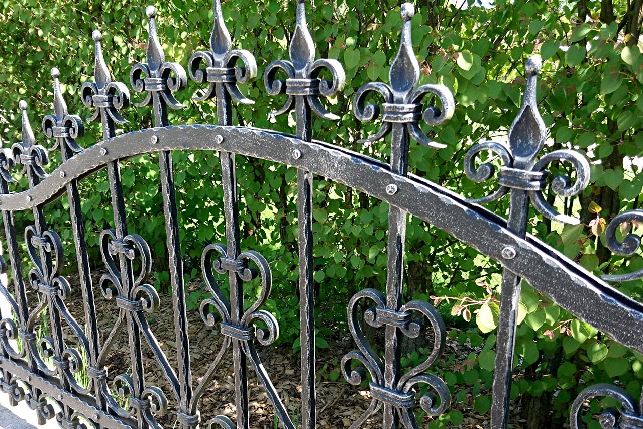 Kovane ograje za vrt