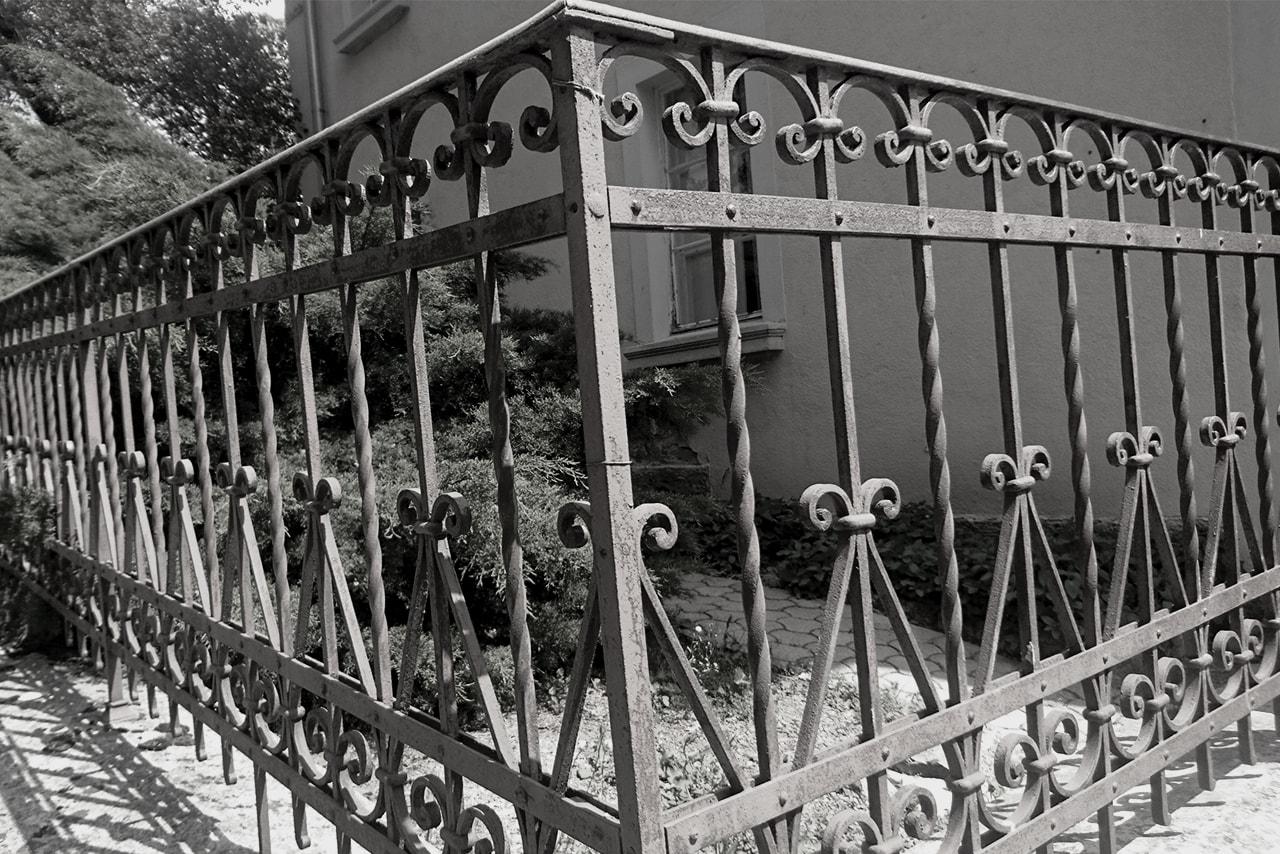 kovane ograje nekoc in danes