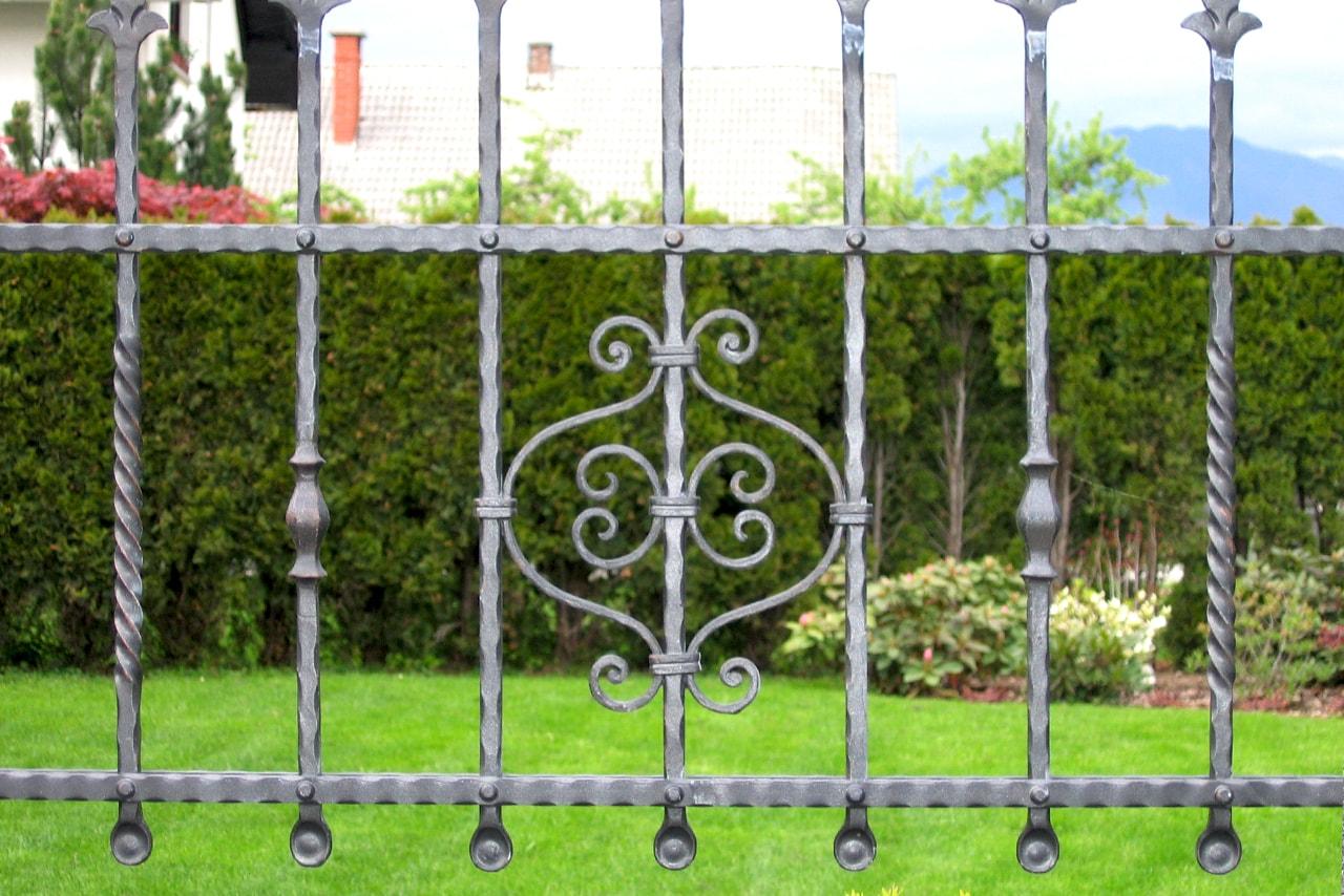 Izdelava vrtne ograje po naročilu sarnek.si