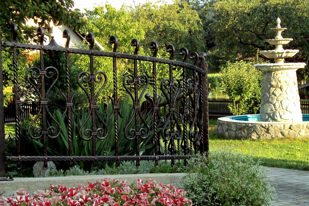 Vrtna ograja za gostišča